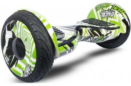 Гироскутер Smart Balance Premium Самобаланс и Арр 10,5 Зеленый Граффити