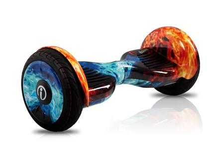 Гироскутер iBalance Premium Самобаланс и Арр 10.5 Лед и Огонь