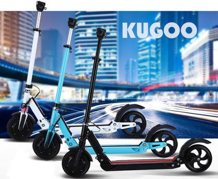Электросамокат KUGOO-S2 Blue