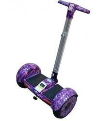 Сигвей с ручкой Smart Balance А8 + Самобаланс Фиолет Космос