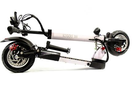 Электросамокат Kugoo M4 White 500W 11000Ah