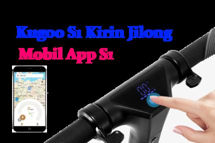 Электросамокат KUGOO-S1 White Jilong Kirin